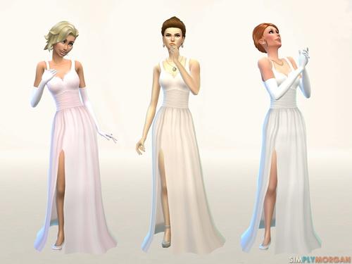 Simply Morgan: Wedding Dress (3 Color Options)