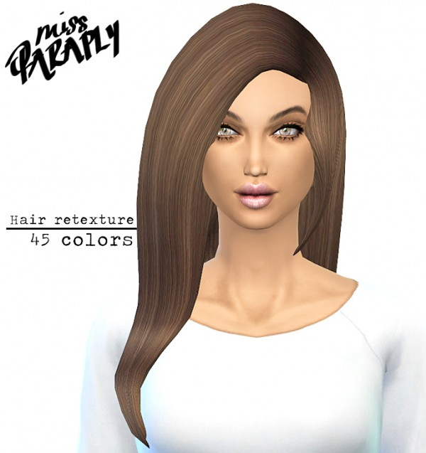Miss Paraply: David Sims Star Hairstyle Retextured
