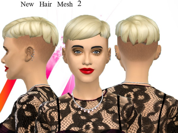 The Sims Resource: Punk hairstyle 2   new mesh by neissy