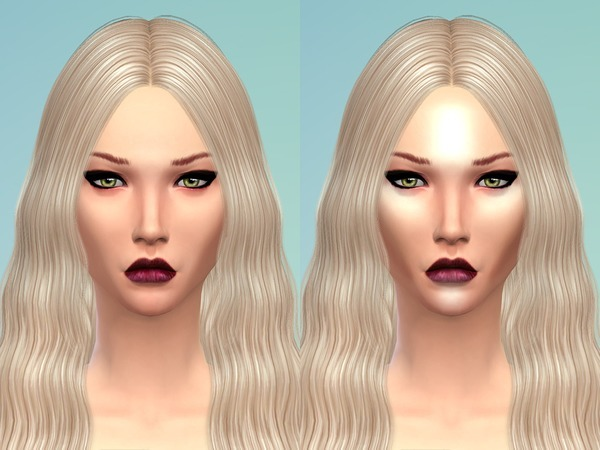 The Sims Resource: Blush & Highlighter by RJ SIM