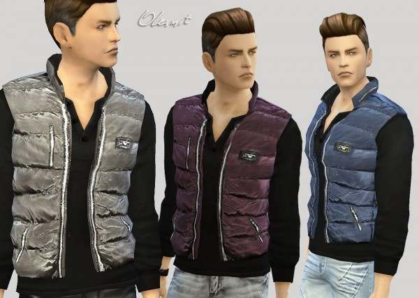 Olesims Male Vest Sims 4 Downloads