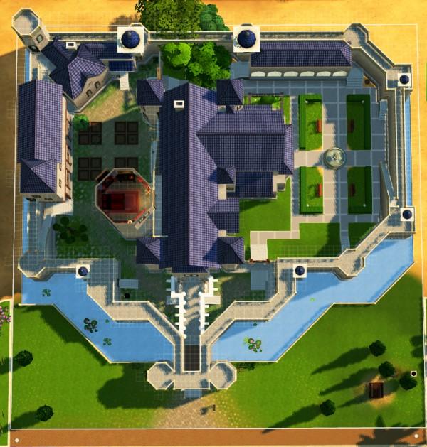 Mod The Sims: The Small Kingdom Castle (no CC) by artrui