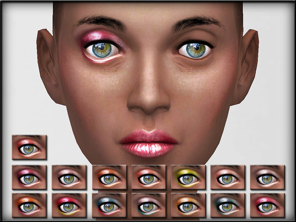 The Sims Resource: EyeShadow Set 2  by Shojo Angel