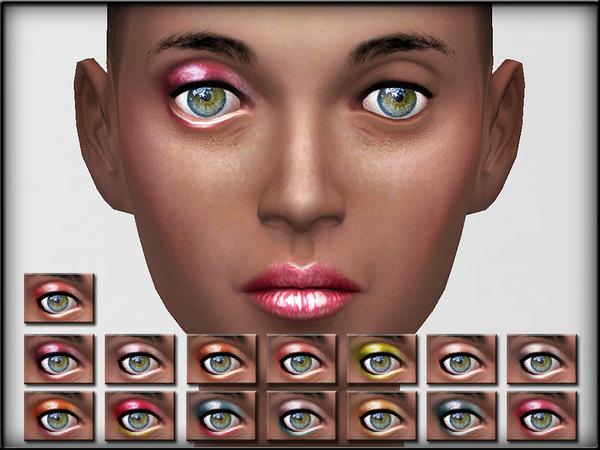The Sims Resource: EyeShadow Set 2  by Shojo Angel