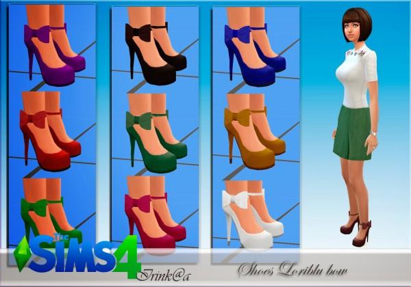 Irinka: Shoes Loriblu bow