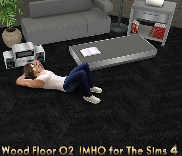 IMHO Sims 4: Wood Floor 02 The Sims 4 by IMHO