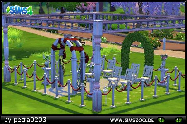 Blackys Sims 4 Zoo: Wedding garden