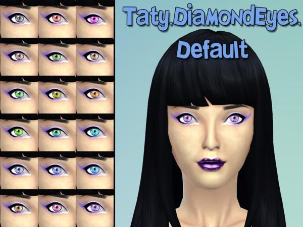 The Sims Resource: Diamond Eyes by Taty