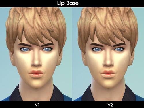 Cien z Roza: Lips Base to lighten the lip gloss or darken it