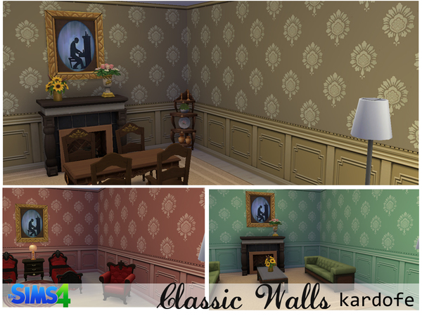 The Sims Resource: Classic walls by kardofe
