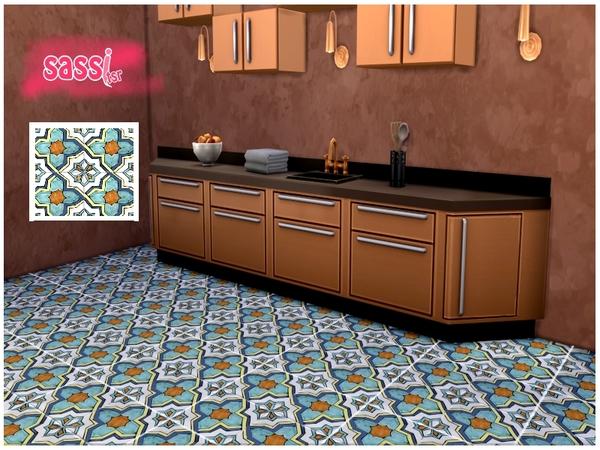 The Sims Resource: Italian Floor Flower by Sassitsr