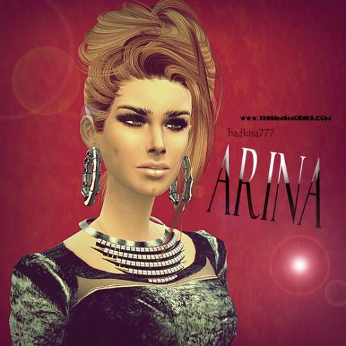 The Sims Models: Arina female sims model by badkisa777