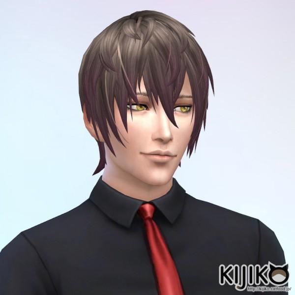 Kijiko: V Shaped Bangs hair
