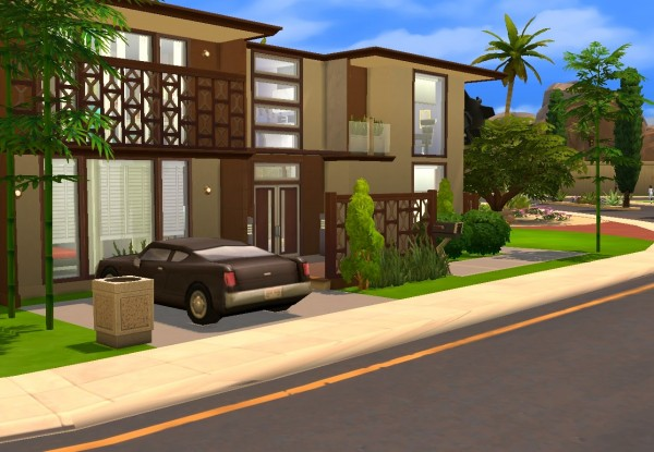 Architectural tricks from Dalila: Modern house