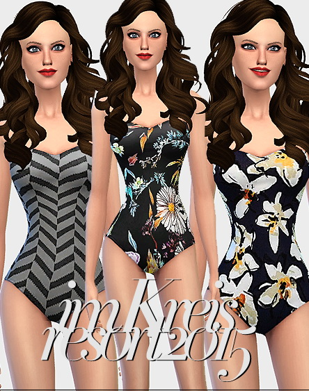 Ecoast: Three swimsuits
