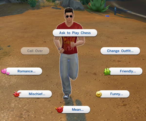 Mod The Sims: Change Outfit On Inactive Sims by Shimrod101