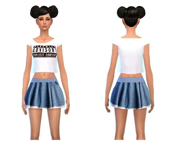 The Sims Resource: Sweet and fashionista outfit by Simsoertchen