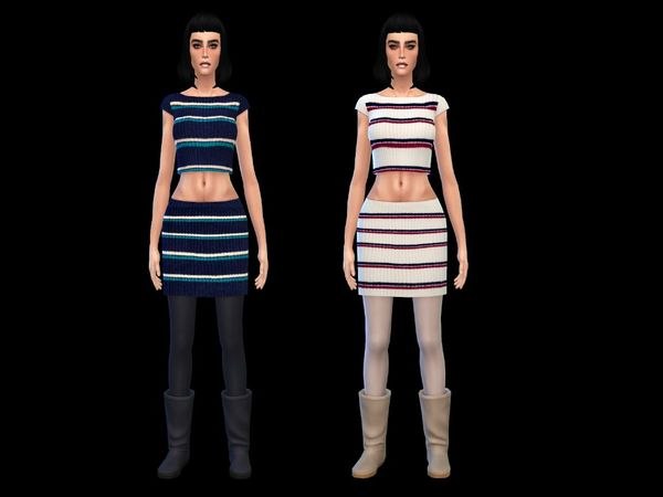 The Sims Resource: Autumn wool collection by Simsoertchen