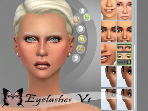 The Sims Resource: Eyelashes V1 by Ms Blue