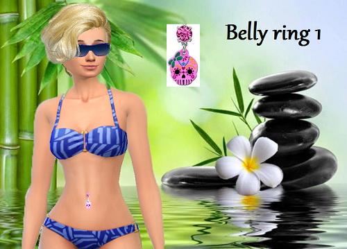 Trudie55: Belly ring 1