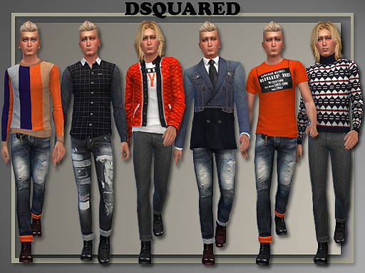 All About Style: DSquared Male Fall/ Winter 2014