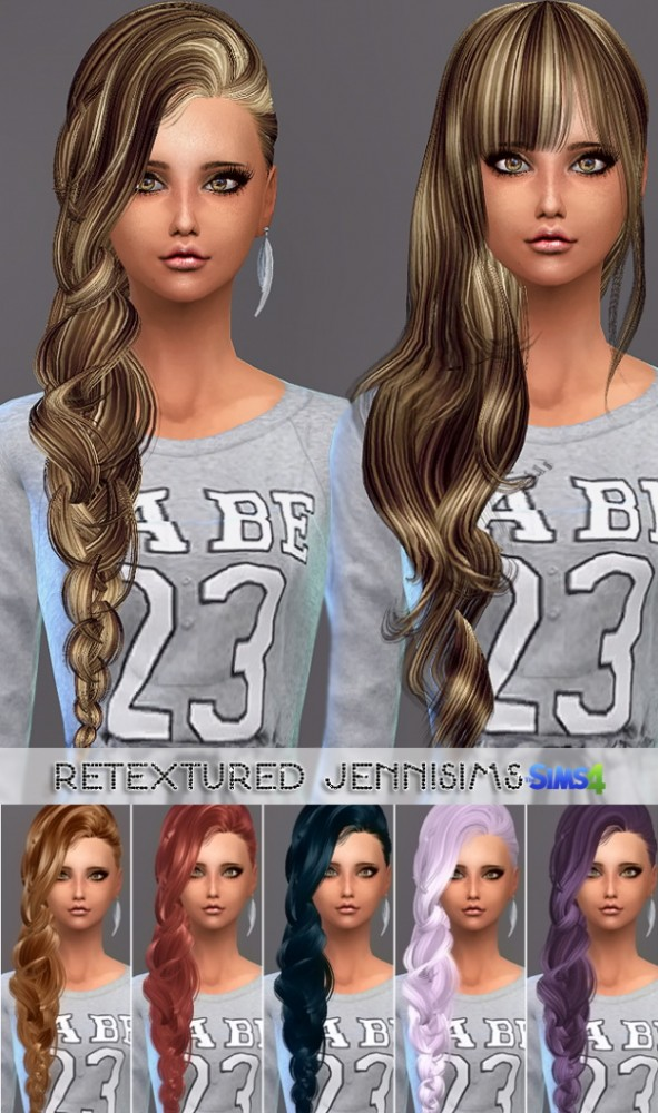 Jenni Sims: Elasims Hairs Converted