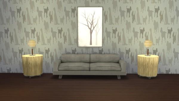 Meinkatz Creations: I Love Dogz walls