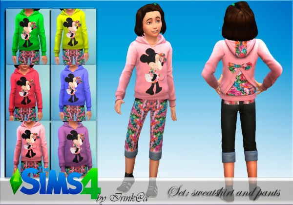 Irinka: Set sweatshirt and pants