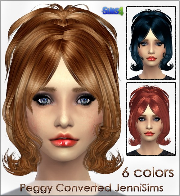 Jenni Sims: Peggy hairstyle converted