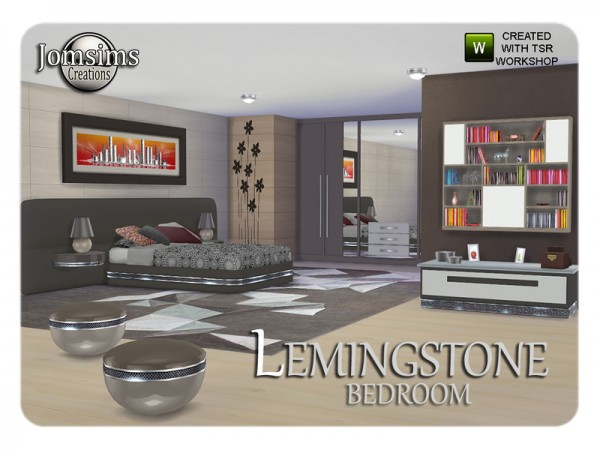 The sims resource lemingstone bedroom by jomsims sims 4 downloads