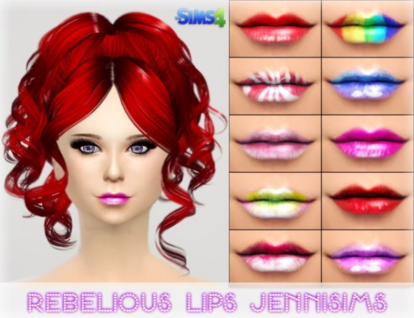 Jenni Sims: Rebelious Lips