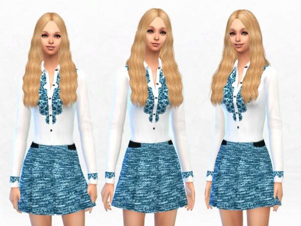 The Sims Resource Pretty Girls Dress By Sakura Phan