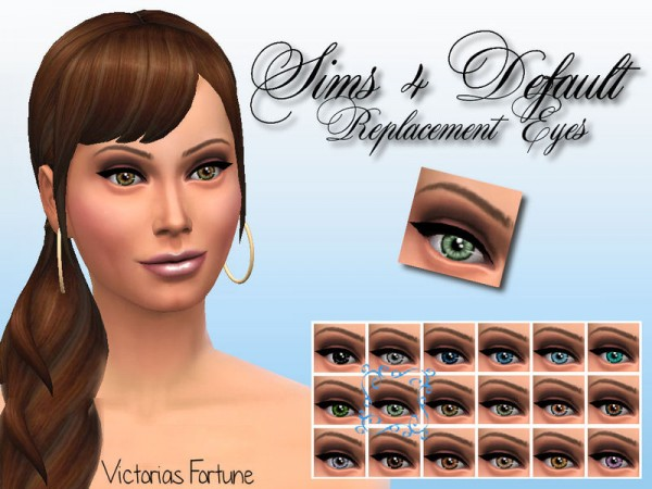 The Sims Resource: Eye Collection by fortunecookie1