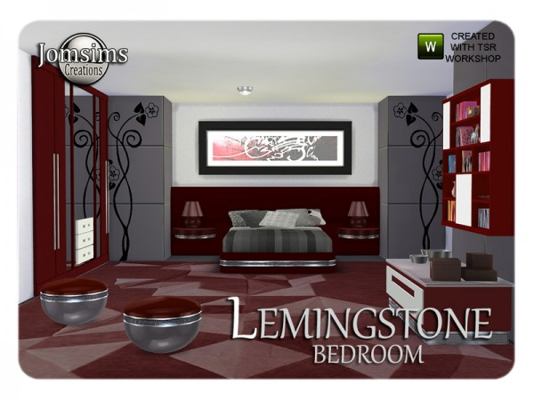 The Sims Resource: Lemingstone bedroom by JomSims