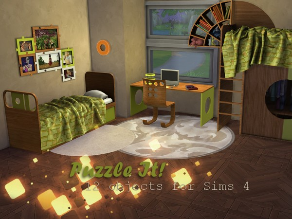 The Sims Resource Puzzle It Kids Room By Kiolometro