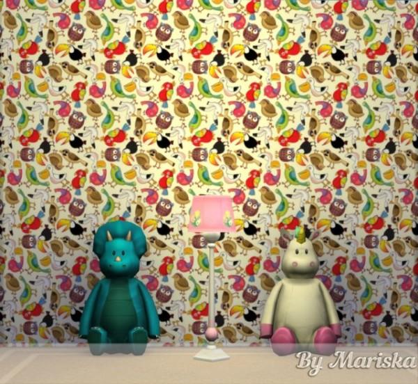 The Sims Models: Walls by Mariska