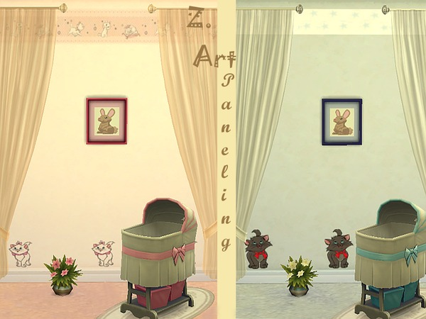 The Sims Resource: Girl or Boy walls by Zuckerschnute20
