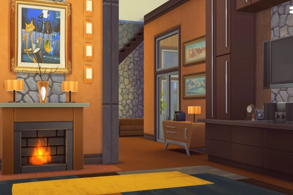 Melissa Sims 4: WoodnStone residential lot