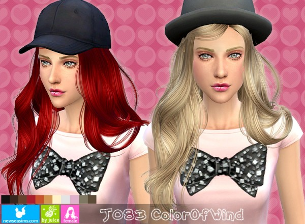 NewSea: J083 Color of Mind hairstyle