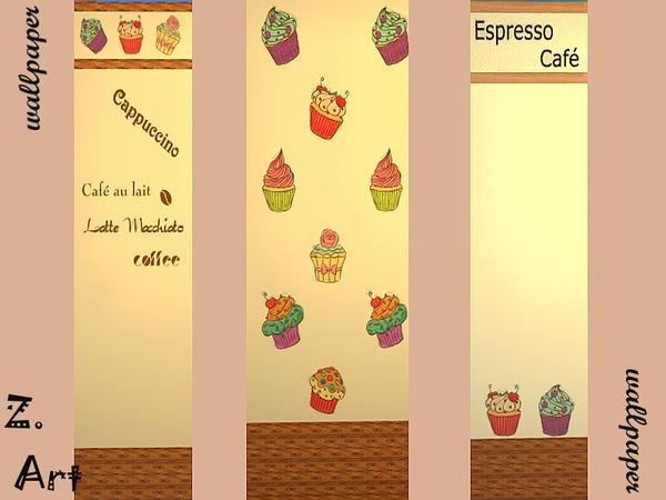 The Sims Resource: Wallpaper Muffins by Zuckerschnute20