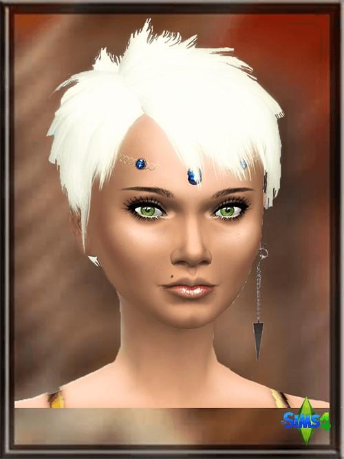 Les Sims 4 Passion: Madine Monet female sims model