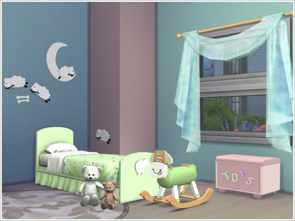 Sims By Severinka Kids Room Baby Sheep Sims 4 Downloads