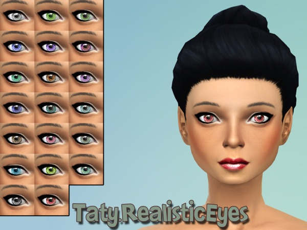 The Sims Resource: Realistic Eyes by taty