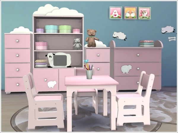 Sims by Severinka: Kids room Baby sheep