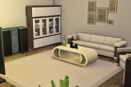 Modern kids bedroom set for Sims 4 living room ideas