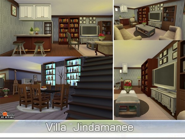 The Sims Resource: Villa Jindamanee by Autaki