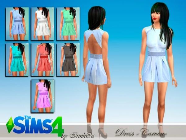 Irinka: Dress Carven