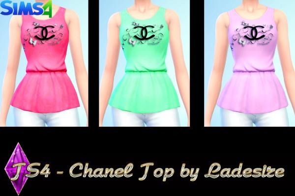 Ladesire Creative Corner: Chanel Top by Ladesire