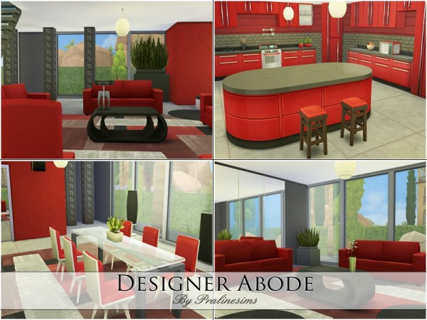 The Sims Resource: Designer Abode by PralineSims