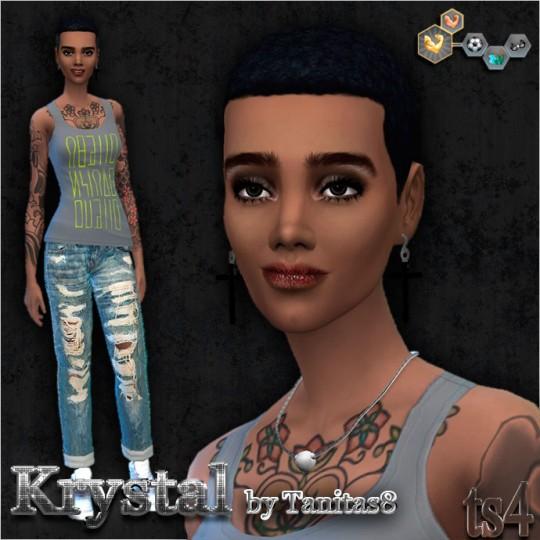 Sims Creativ: Krystal by Tanitas8